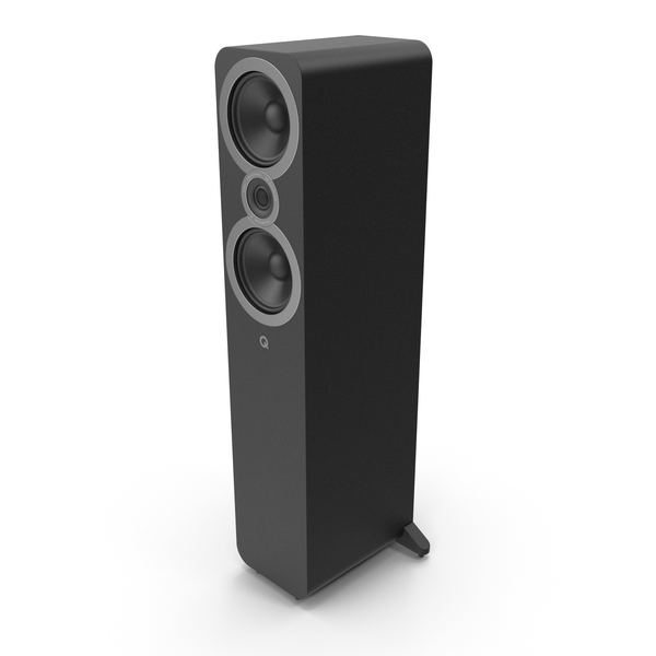 Floorstanding Speakers System Left PNG & PSD Images