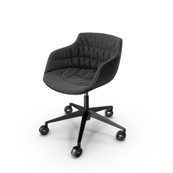 Office: Flow Slim Chair BBF PNG & PSD Images