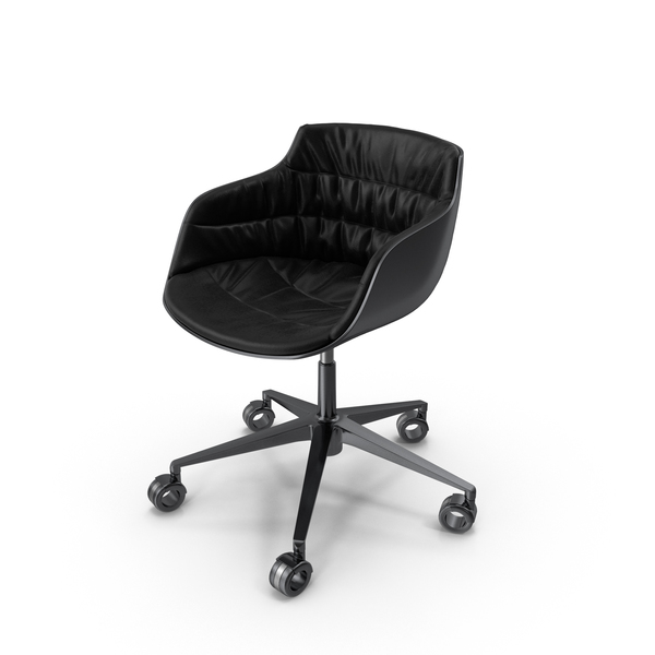 Flow Slim Padded Chair PNG & PSD Images