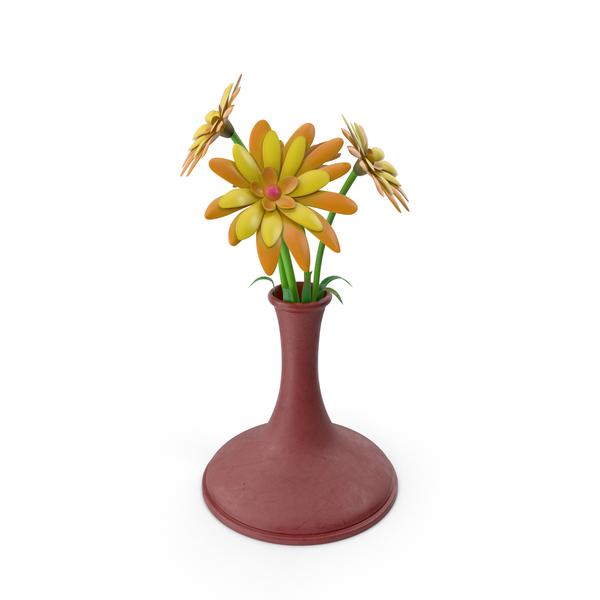 Flower Vase Plastic PNG & PSD Images