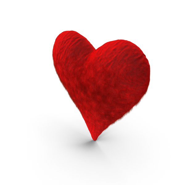 Fluffy Heart PNG & PSD Images