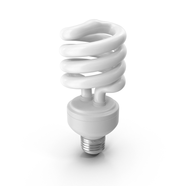 Fluorescent Light Bulb PNG & PSD Images