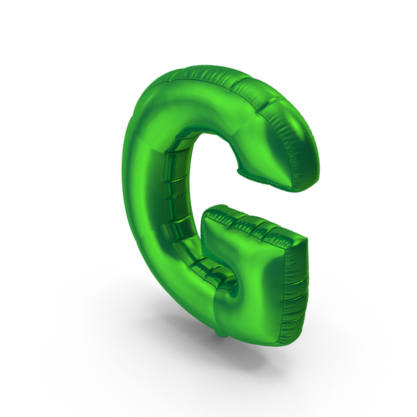 Foil Balloon Letter G PNG & PSD Images