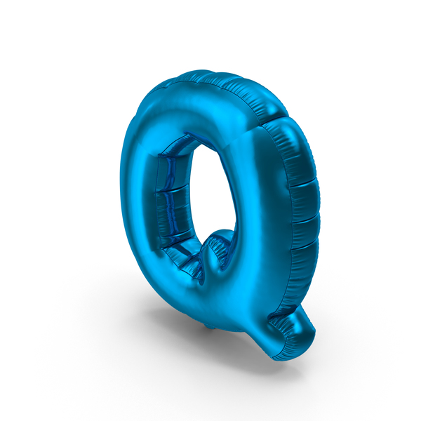Balloons: Foil Balloon Letter Q PNG & PSD Images