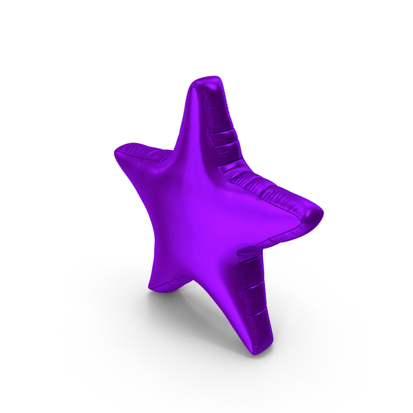 Balloons: Foil Balloon Star PNG & PSD Images