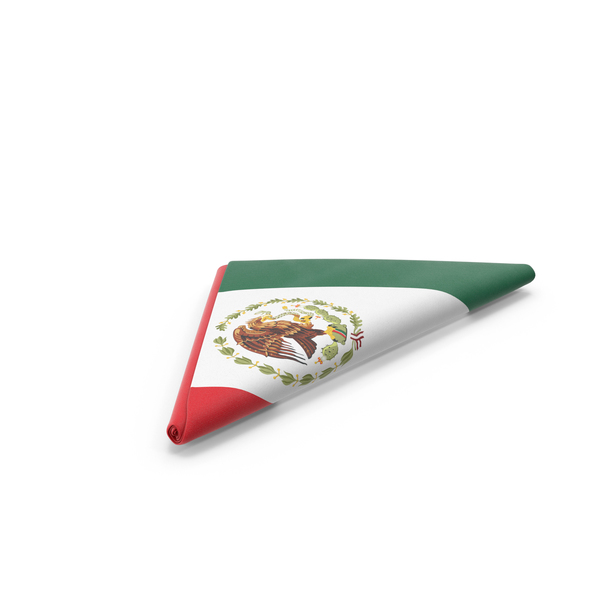 Folded Mexican Flag PNG & PSD Images