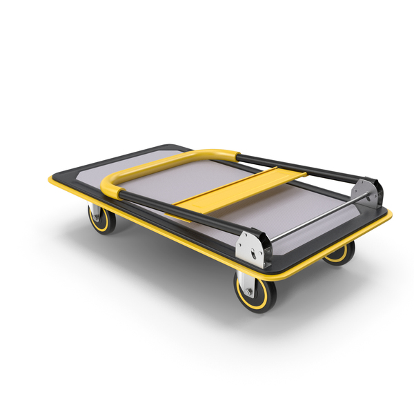 Transport: Folded Trolley PNG & PSD Images