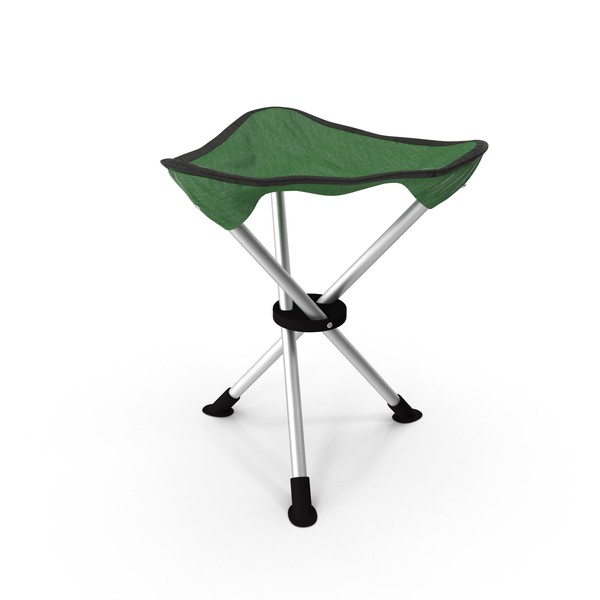 Folding Tripod Travel Stool PNG & PSD Images