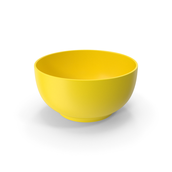 Food Bowl Yellow PNG & PSD Images