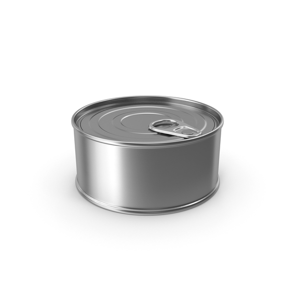 Tin: Food Can No Label PNG & PSD Images