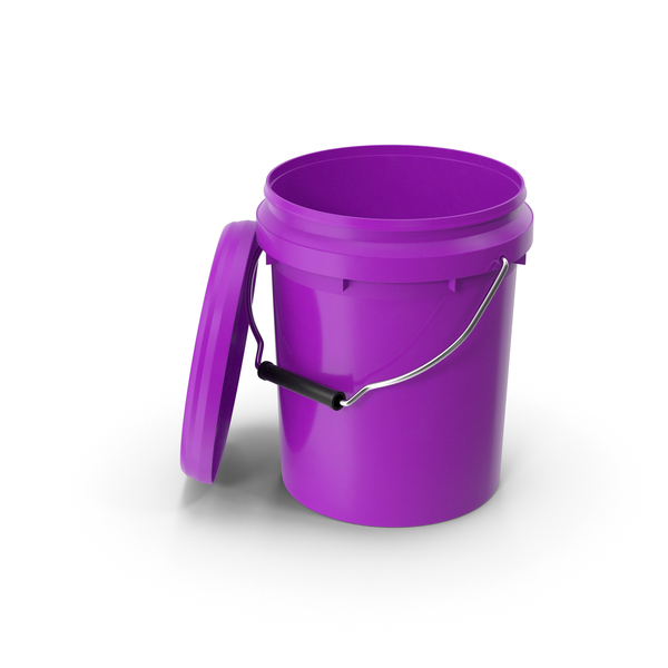 Food Grade 5l Plastic Bucket PNG & PSD Images