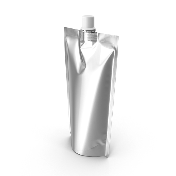 Container: Food Packaging Metallic PNG & PSD Images