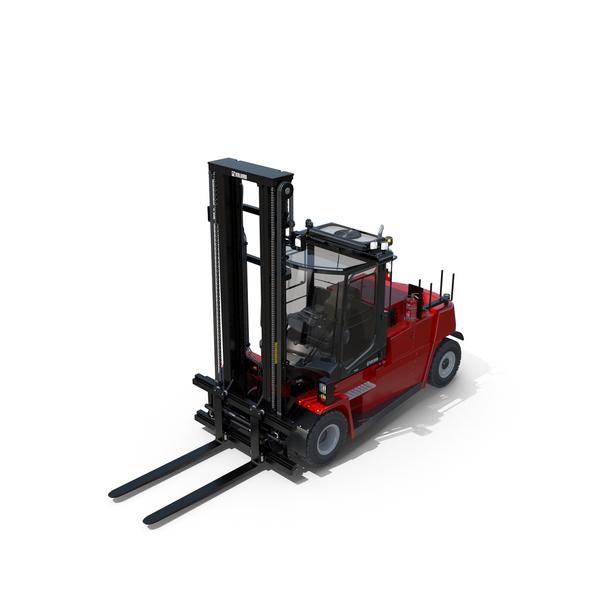 Forklift Kalmar DCG50-90 PNG & PSD Images