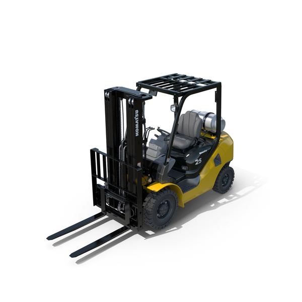 Forklift Komatsu BX50 PNG & PSD Images