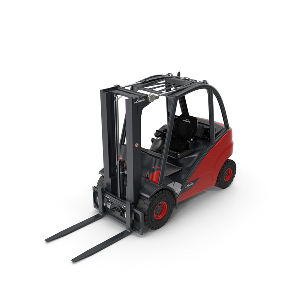 Forklift Linde E30 PNG & PSD Images