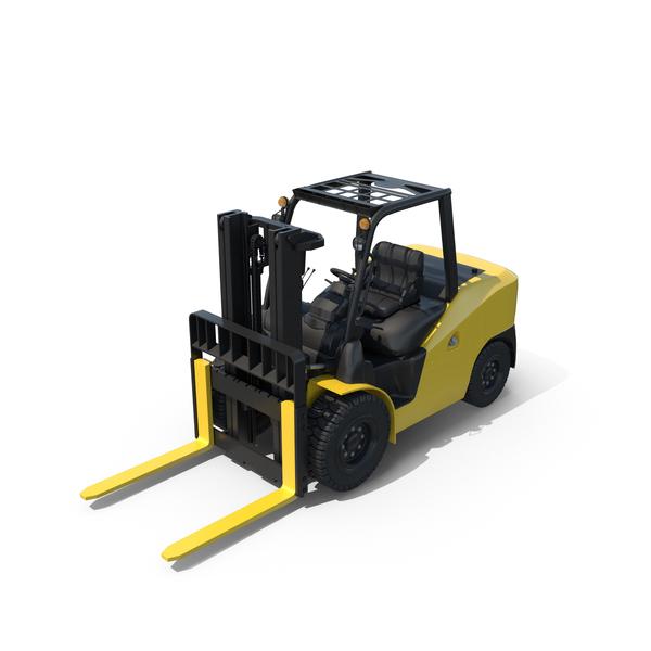 Forklift Loader Truck PNG & PSD Images