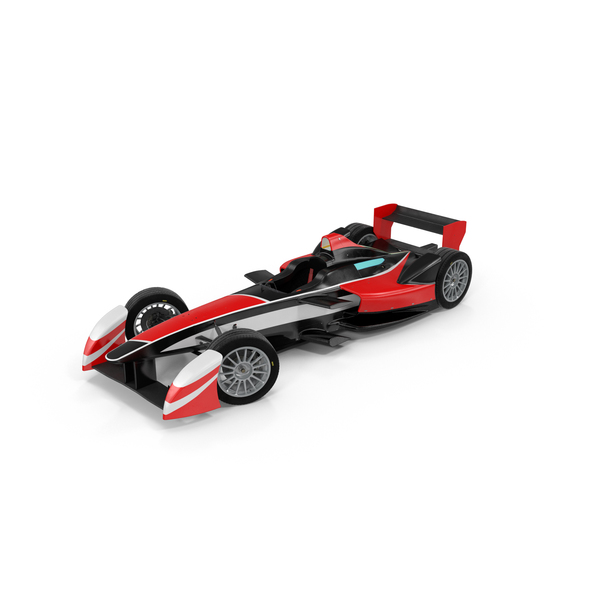 Formula E Race Car Object