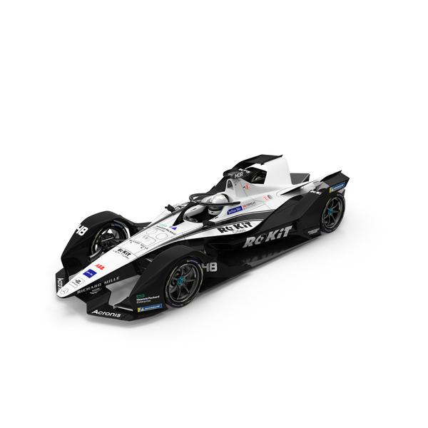1 Car: Formula E Rokit Venturi 2020 2021 PNG & PSD Images