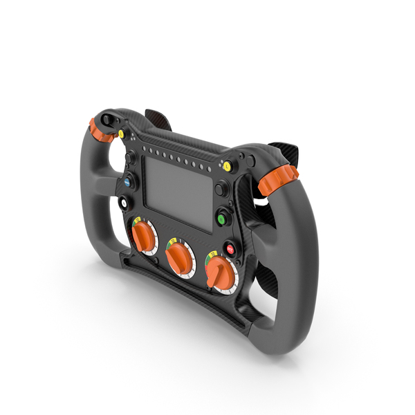 Formula E Steering Wheel PNG & PSD Images