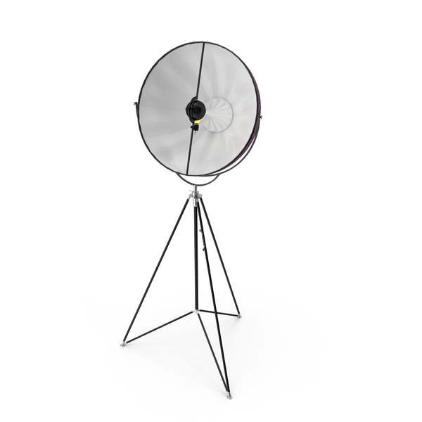 Fortuny Studio 63 Tripod Floor Lamp PNG & PSD Images