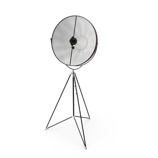 Fortuny Studio 63 Tripod Floor Lamp PNG & PSD Images