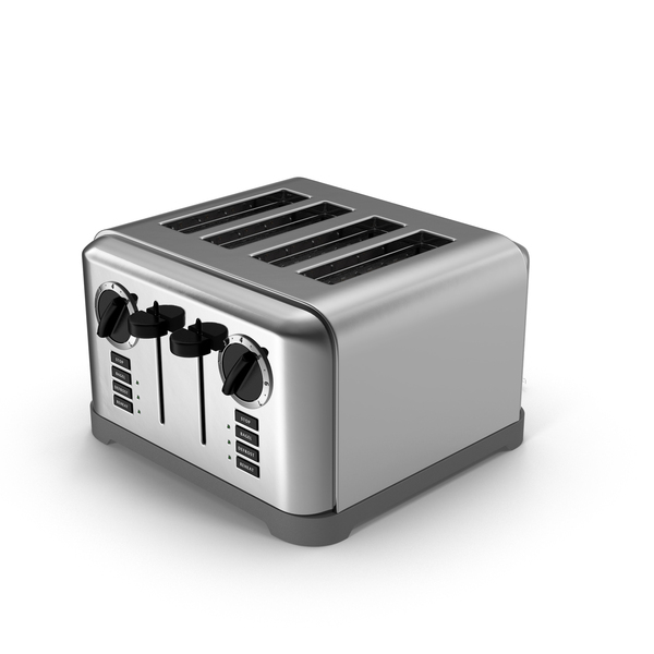 Four Slice Toaster PNG & PSD Images