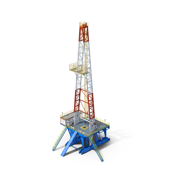 Fracking Gas Platform Object
