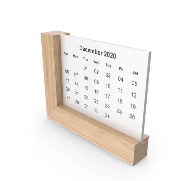 Frame Calendar Light wood PNG & PSD Images