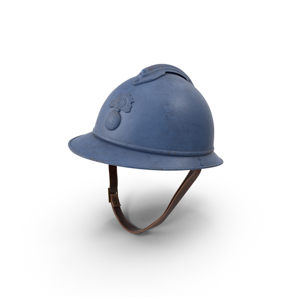 Military: French M15 Adrian Helmet PNG & PSD Images