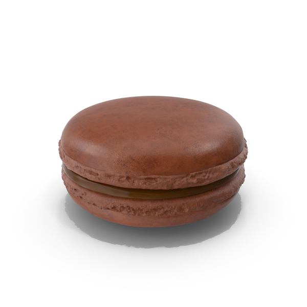 French Macaroon Chocolate PNG & PSD Images
