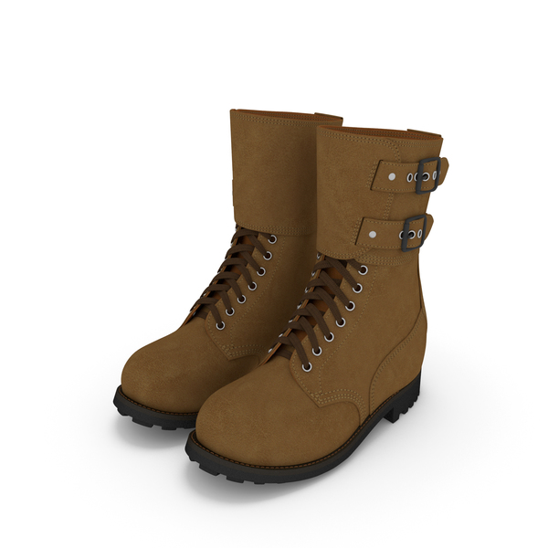 French Military Boots PNG & PSD Images