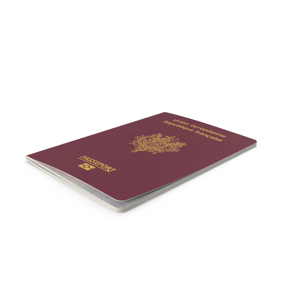French Passport PNG & PSD Images