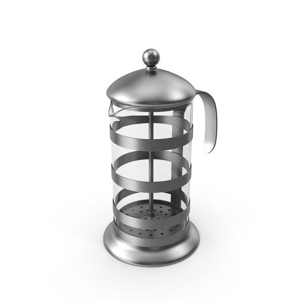 Coffee Pot: French Press Object