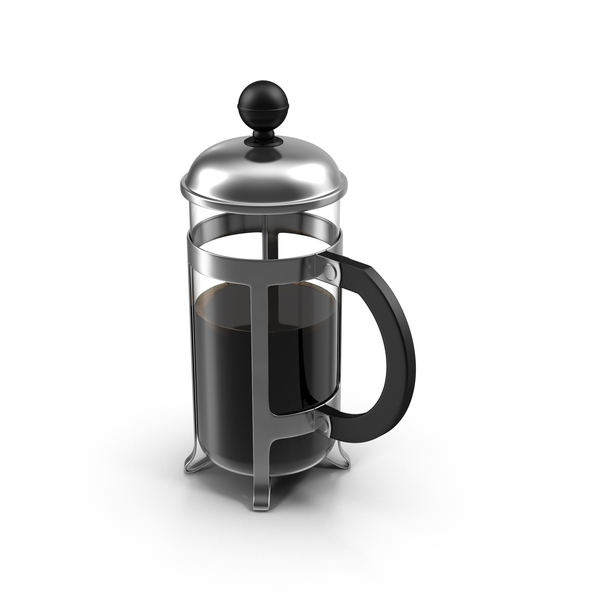 French Press PNG & PSD Images
