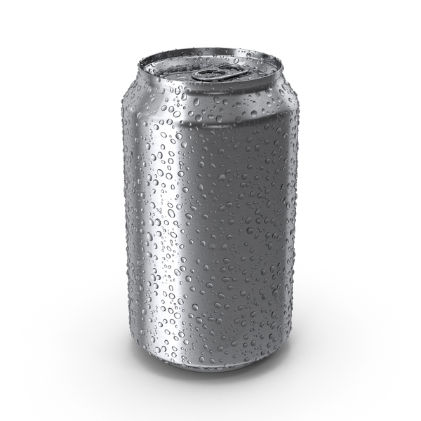 Aluminum: Fresh Soda Can PNG & PSD Images