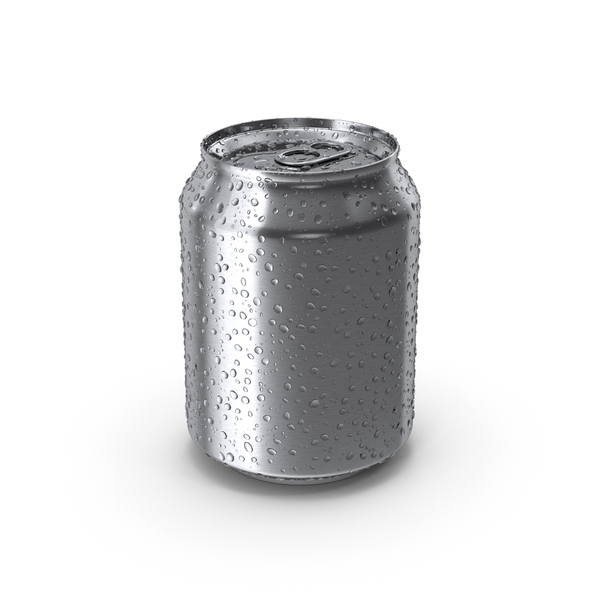 Aluminum: Fresh Stubby Soda Can PNG & PSD Images