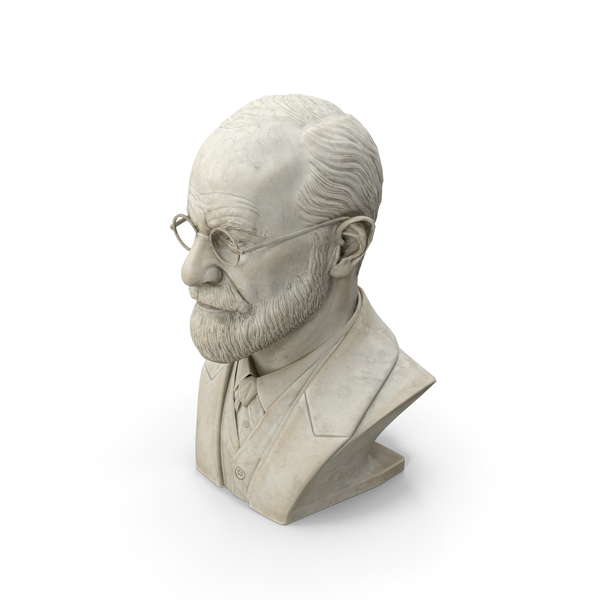 Freud Bust PNG & PSD Images
