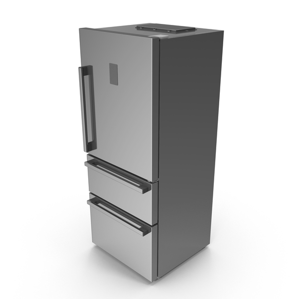 Fridge Closed Doors PNG & PSD Images
