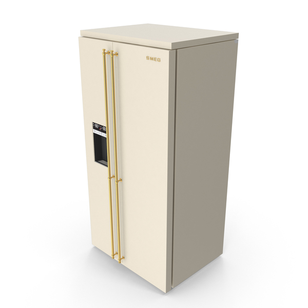 Fridge Colonial Two Doors PNG & PSD Images