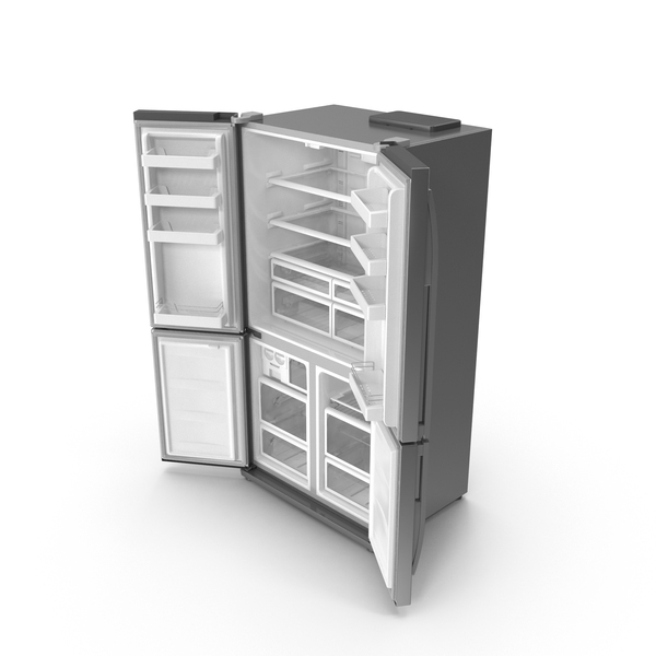 Fridge Open Doors PNG & PSD Images