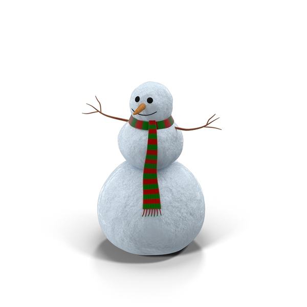 Scarf: Friendly Snowman PNG & PSD Images