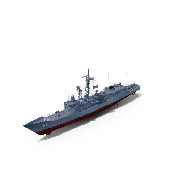 Frigate USS Ingraham (FFG-61) PNG & PSD Images
