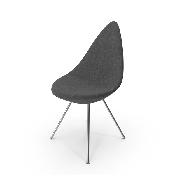 Fritz Hansen Drop Chair PNG & PSD Images