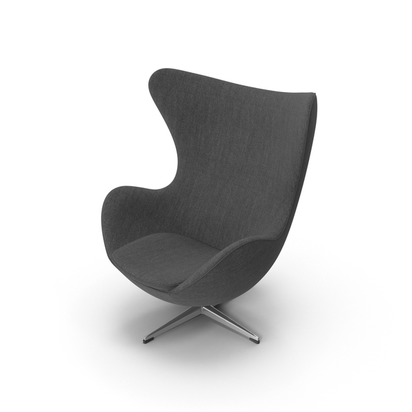Fritz Hansen Egg Lounge Chair PNG & PSD Images