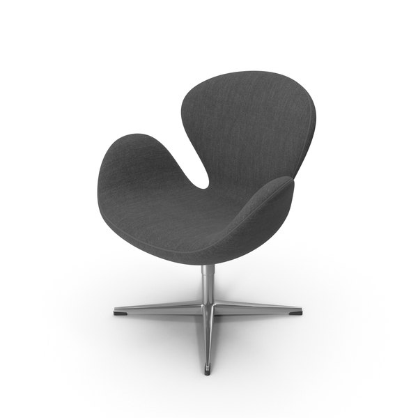 Arm: Fritz Hansen Swan Chair PNG & PSD Images