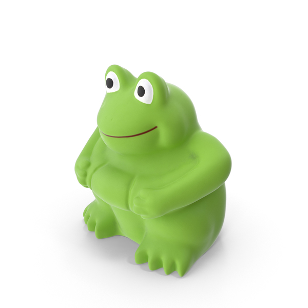 Frog Bath Toy PNG & PSD Images