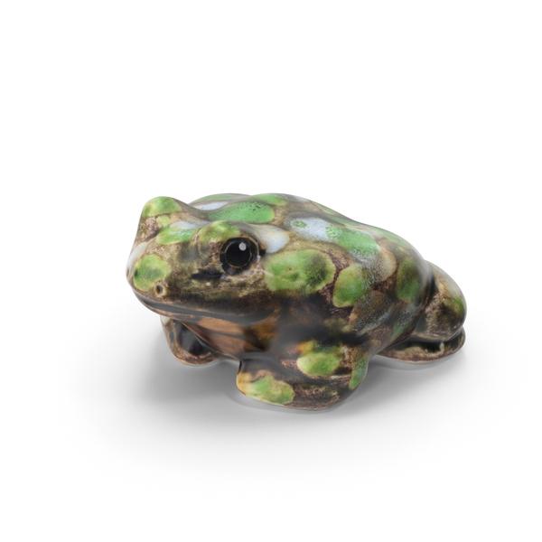 Frog Figurine PNG & PSD Images