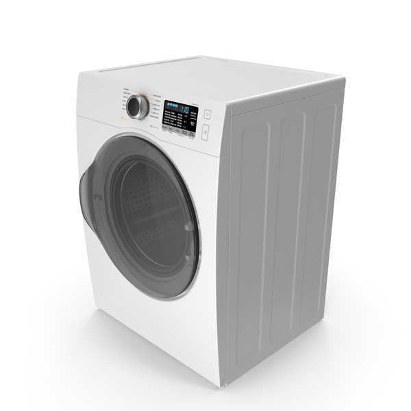 Washing Machine: Front Load Dryer Generic PNG & PSD Images