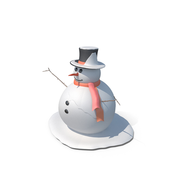 Frosty the Snowman PNG & PSD Images