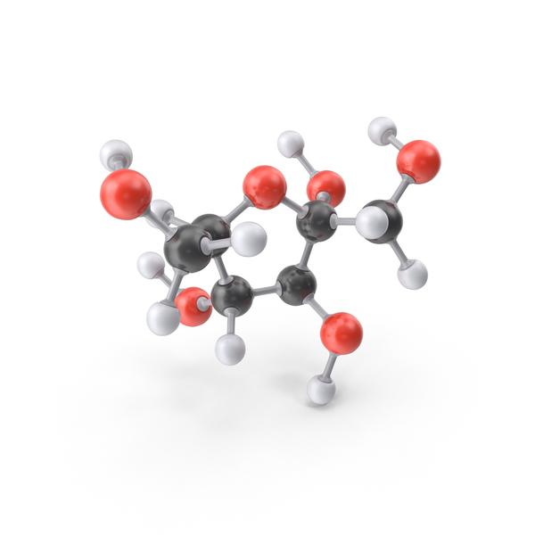 Fructose Alpha D Molecule PNG & PSD Images